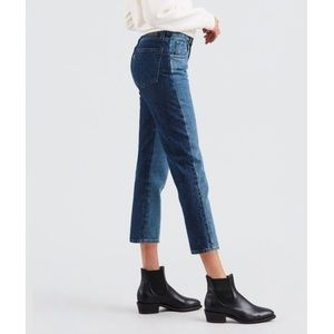 LEVIS • east to west slim cropped jeans